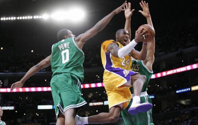 Kobe Bryant durante un partido.