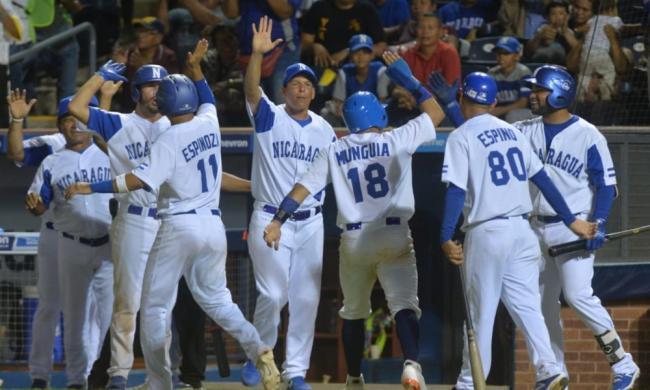 Equipo sub23 de Nicaragua.