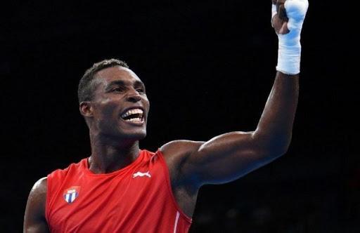 Julio César la Cruz, uno de los boxeadores cubanos más laureados.