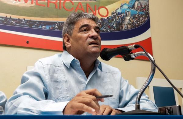 Ernesto Reinoso, Director Nacional de Béisbol.
