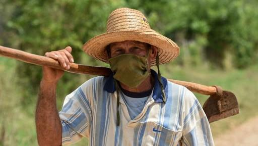 Campesino cubano.
