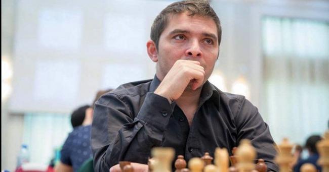 Lázaro Bruzón durante una partida de ajedrez.