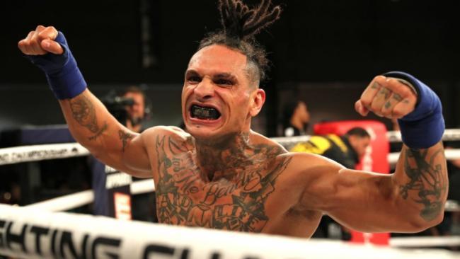 El boxeador cubano Ulysses Díaz.