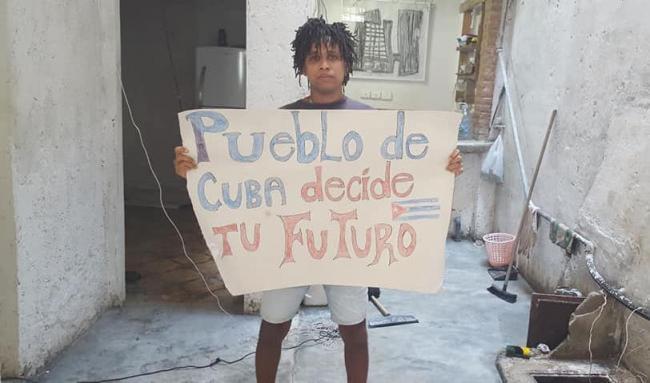 El Movimiento San Isidro exige la liberación de Denis Solís'La violencia y el abuso de poder se han convertido en norma en Cuba | DIARIO DE CUBA