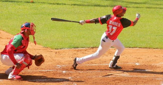 Santiago Torres, jugador de Santiago de Cuba.