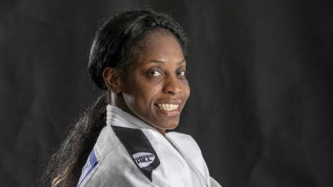 La judoca Kaliema Antomarchi.