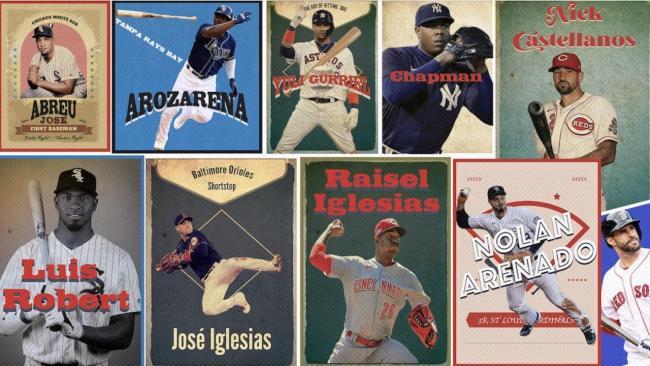 Cubanos en las Grandes Ligas.