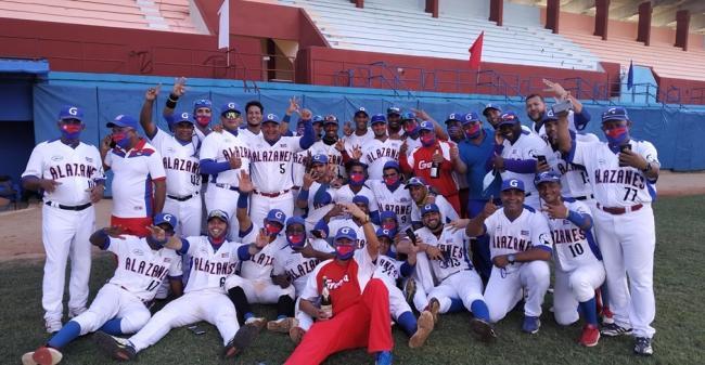Los Alazanes de Granma, nuevos campeones del béisbol cubano.